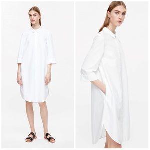 COS Oxford Cotton Shirt Dress